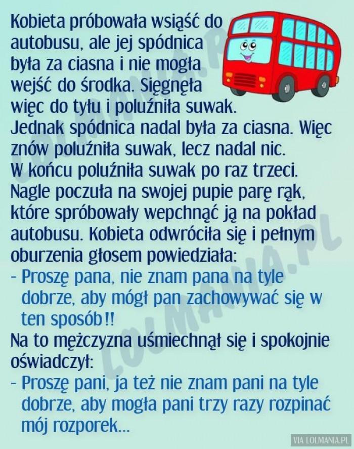 Przygoda w autobusie
