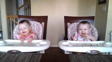 11 miesięczne bliźniaki rozbawią was do łez. To spojrzenie w 16 sekundzie odbierze wam mowę
