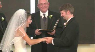 Najśmieszniejsze nagranie ślubne jakie zobaczysz! Nie będziesz się mógł przestać śmiać!