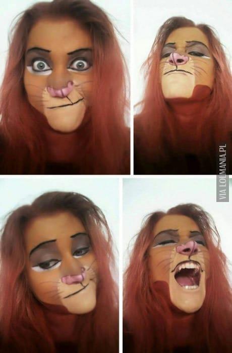 Idealny makijaż na Halloween :)