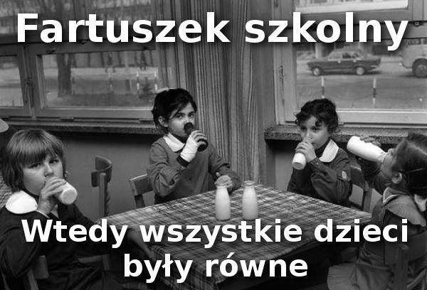 Pamiętacie fartuszki szkolne? :)