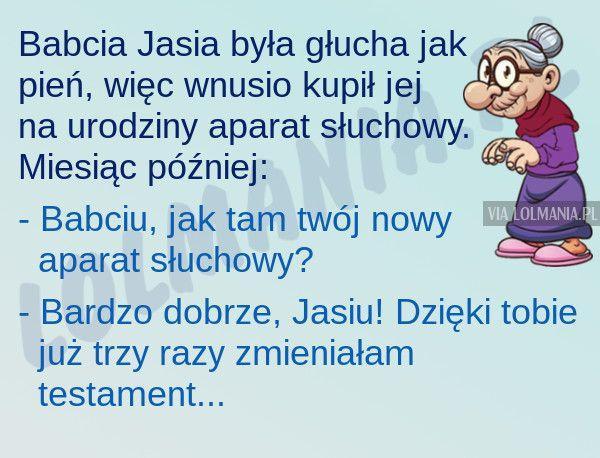 Dobry wnusio :)
