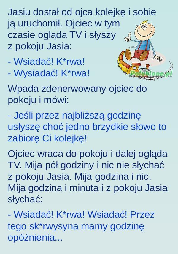 Jasiu maszynista ;)
