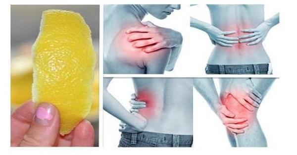 Skórki z cytryny pomogą Ci pozbyć się bólu stawów.