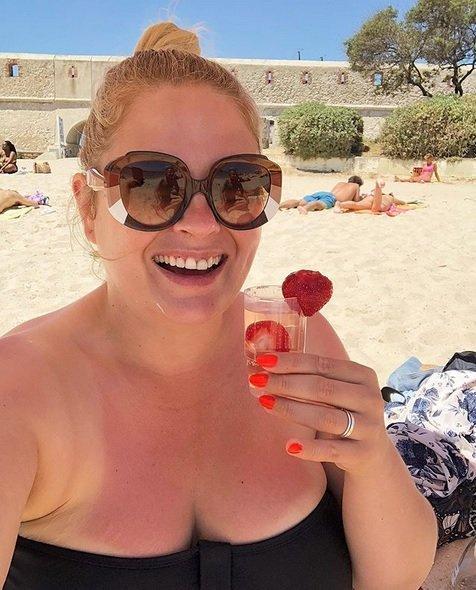 Ela Romanowska podzieliła się zdjęciem z plaży. Aktorka