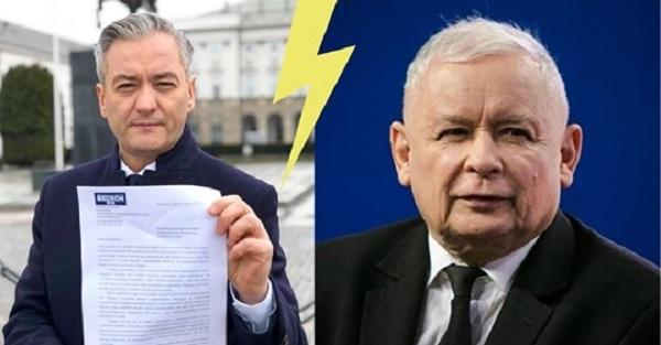 Robert Biedroń: Jarosław Kaczyński postradał zmysły.