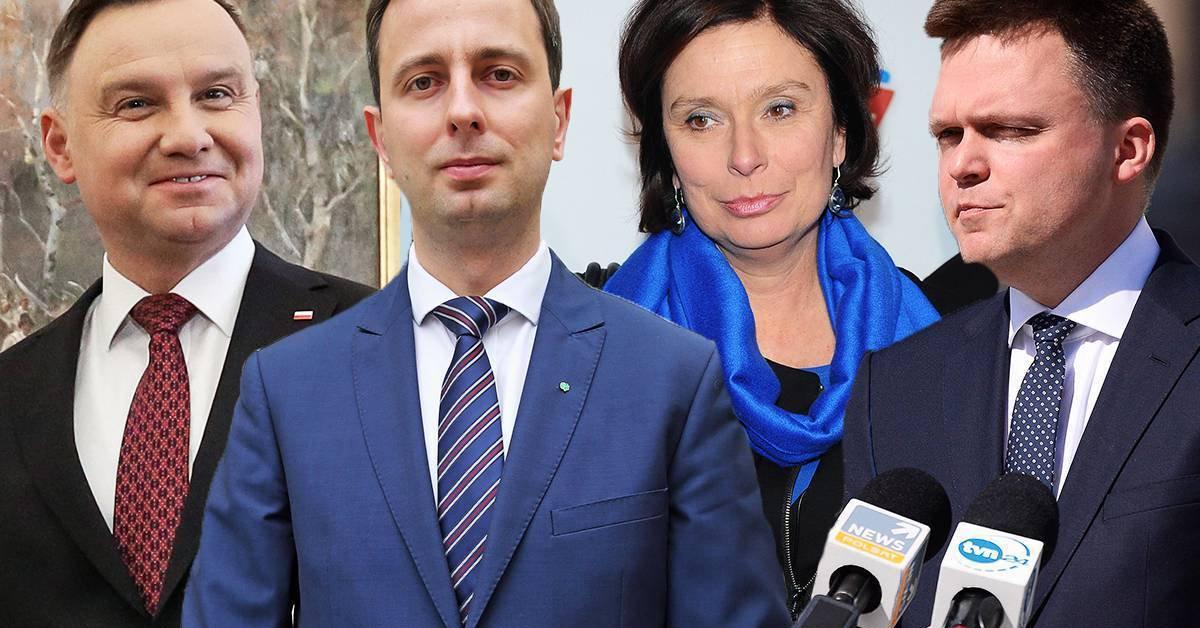 Wpadka podczas debaty prezydenckiej w TVP. Zegar obcinał czas kandydatom.
