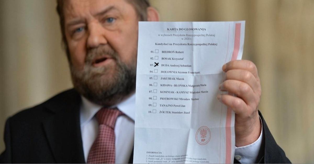 Wyciek kart do głosowania. Sprawę bada ABW.
