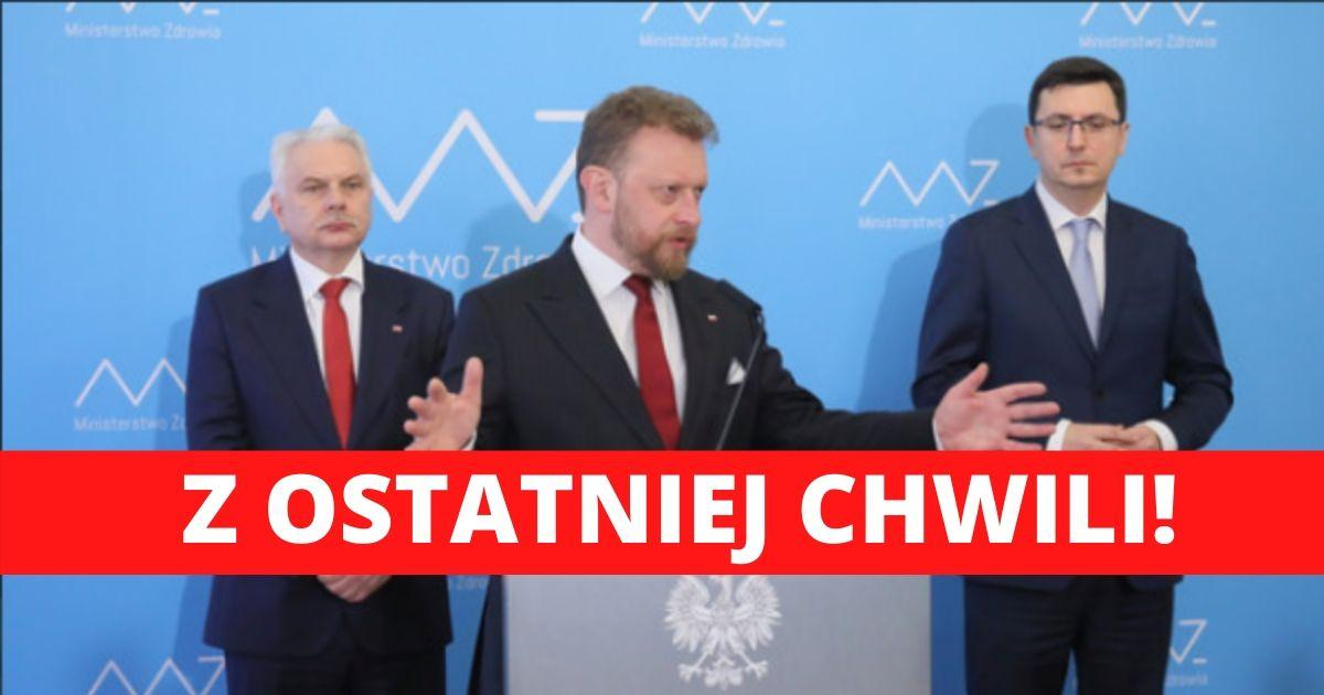 Koronawirus w Polsce. Ministerstwo Zdrowia wydało sprostowanie dotyczące liczby zgonów.