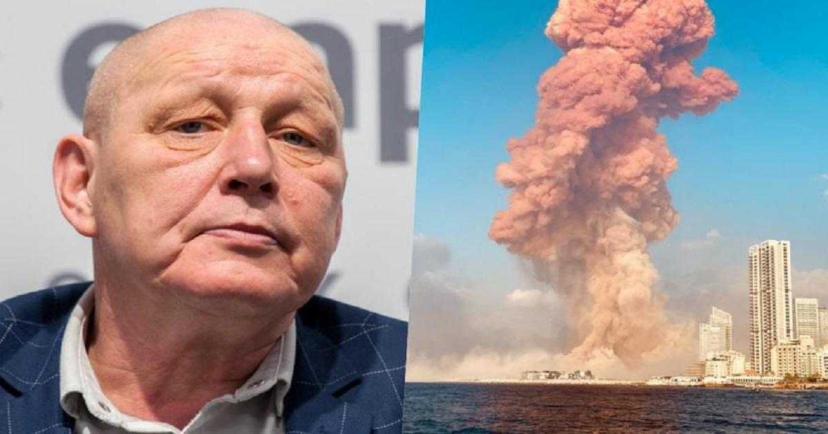 """Krzysztof Jackowski przewidział wybuch w Bejrucie? Miał wizję """"pożaru dużego miasta""""."""
