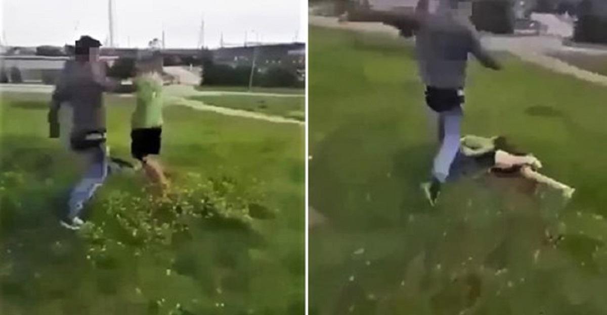 Nastolatek pobił dziecko, a całe zdarzenie nagrywała telefonem koleżanka.