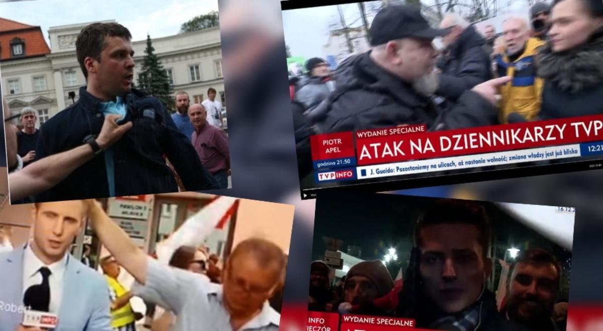 Ataki na dziennikarzy podczas protestów ws. aborcji. Press Club Polska: to działania karalne. Ma rację
