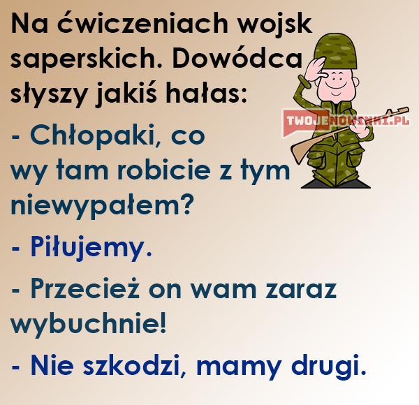 Wojskowe ćwiczenia
