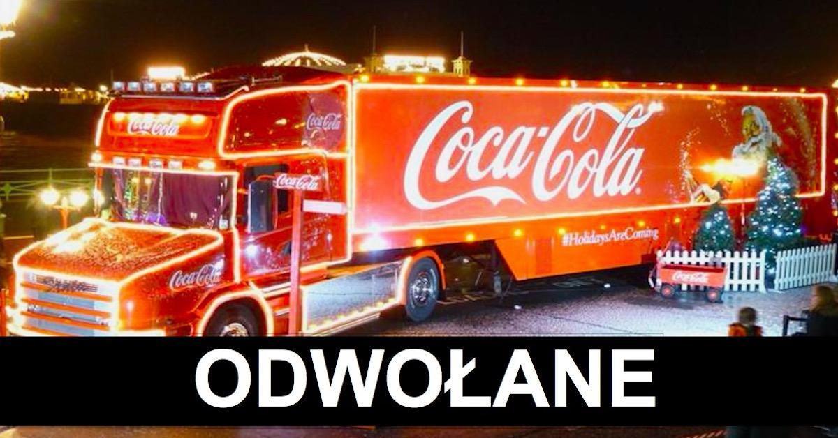 Coca-Cola odwołuje święta z ciężarówkami! W tym roku ich nie zobaczymy. Nasza kochana tradycja przepada!!!