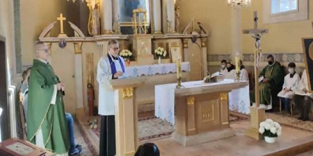 Oburzeni wierni wyszli z kościoła, nie chcą mieć nic wspólnego z księdzem i zapowiadają dalsze działania w tej sprawie