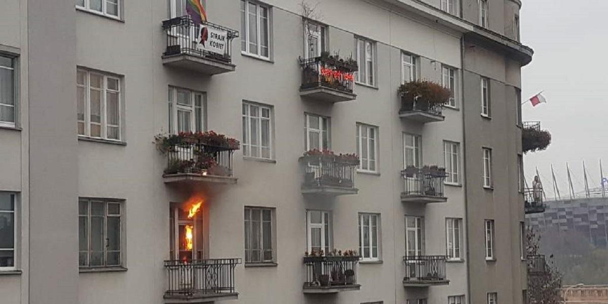 Właściciel mieszkania spalonego podczas marszu zabrał głos. Mocne słowa w kierunku narodowców