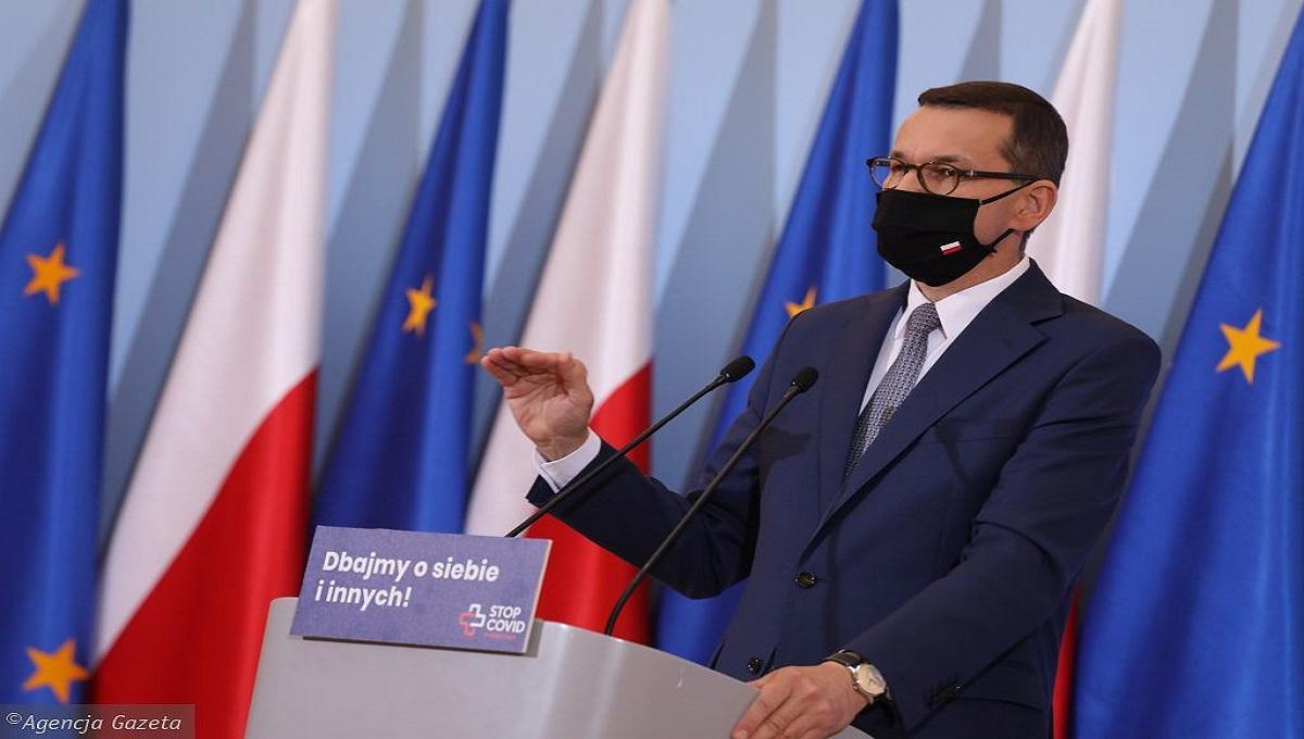 Morawiecki ogłosił: Nikogo nie będziemy zmuszać do szczepień. Rejestracja placówek rusza w piątek