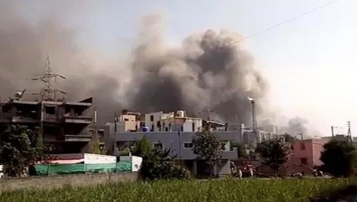 Ogromny pożar fabryki szczepionek na COVID-19. Nie żyje 5 osób.