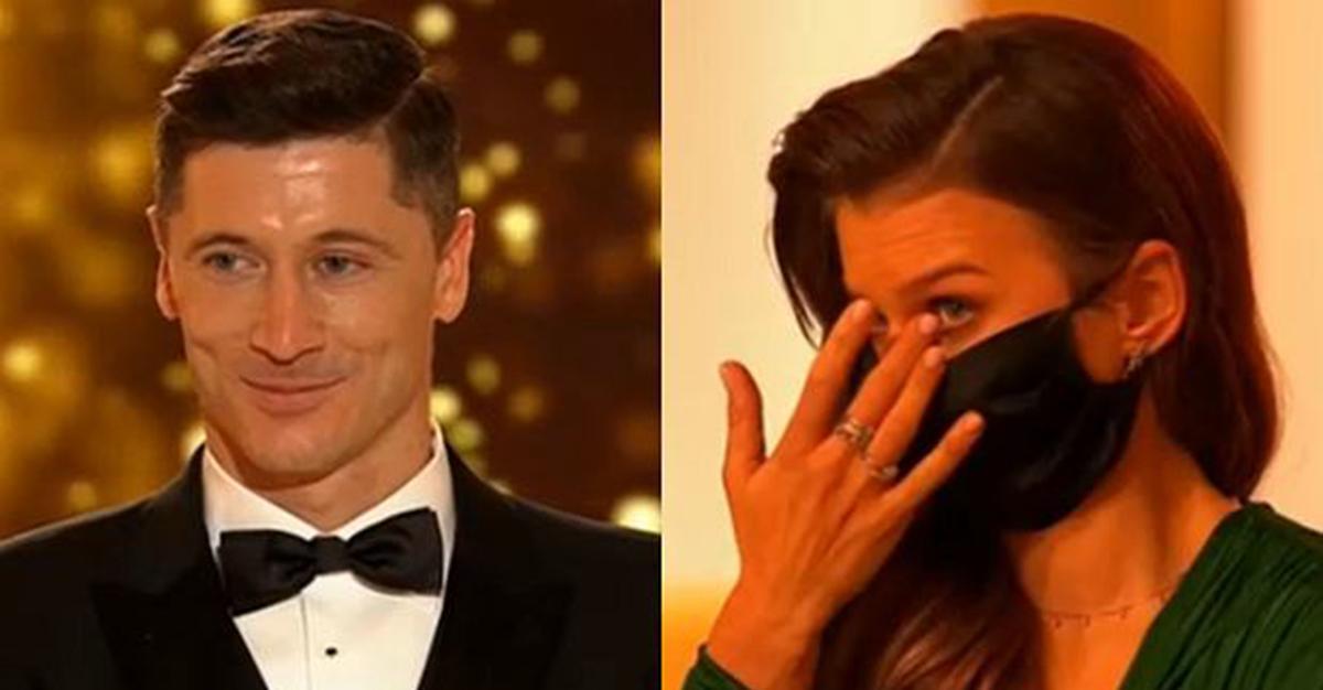 Robert Lewandowski dostał nagrodę Sportowca Roku. Drżącym głosem wyznał coś osobistego. Anna się popłakała.