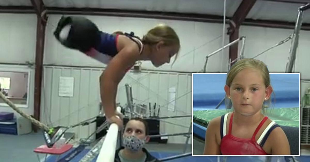Dziewczynka, która urodziła się bez nóg, marzyła aby zostać gimnastyczką. Spójrzcie na tę małą wojowniczkę.