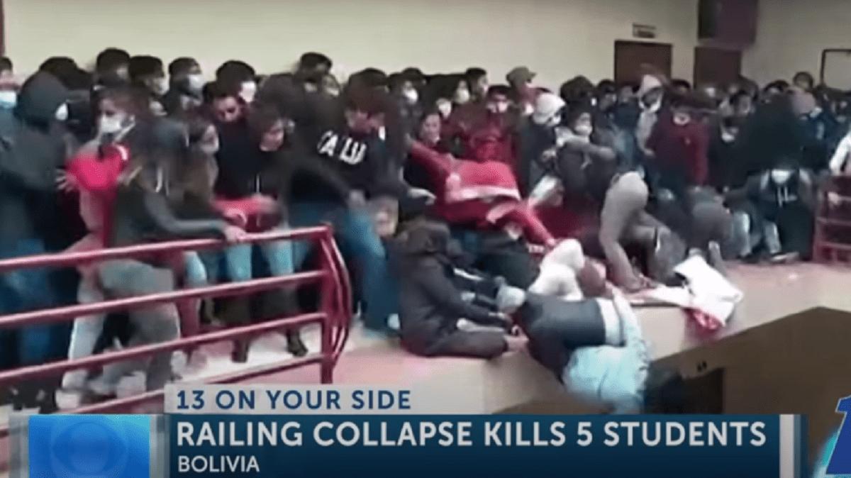 Tragiczny wypadek na uniwersytecie. Nie żyje co najmniej siedmiu studentów.