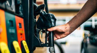 Gas Station Pump With Hand