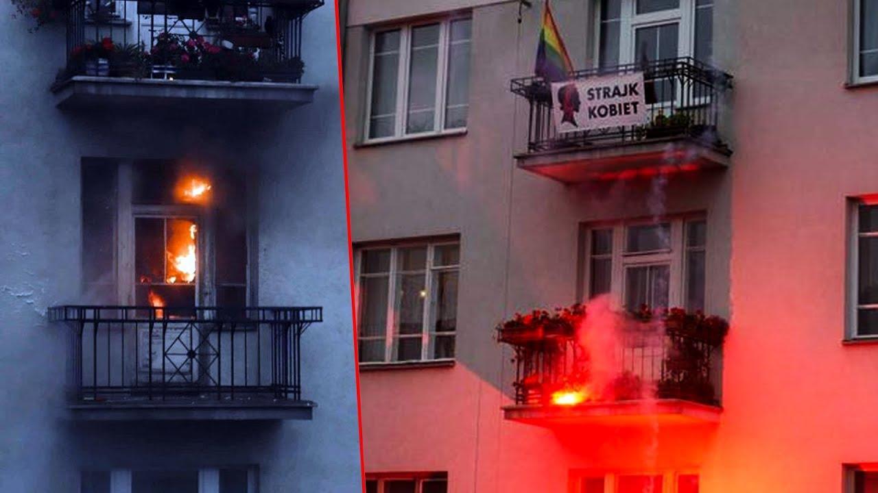 Pożar mieszkania podczas Marszu Niepodległości. Akt oskarżenia dla 37-latka.