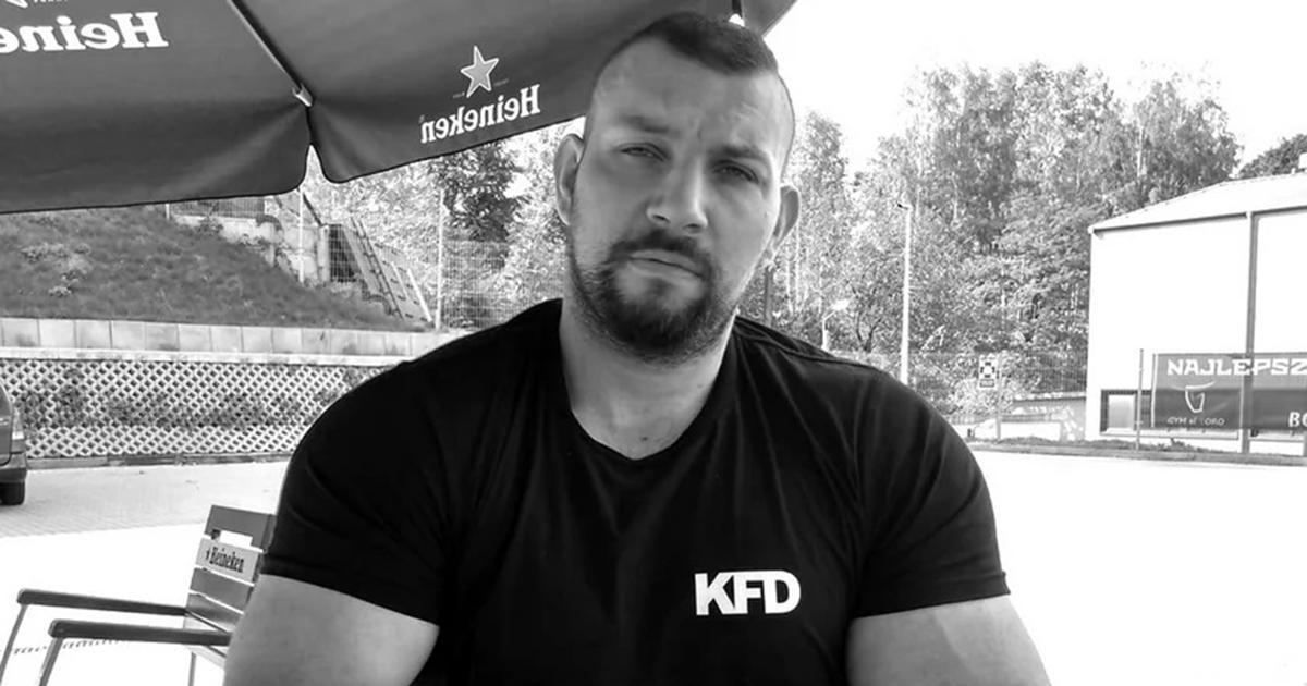Nie żyje trener personalny Wojciech Polak. Miał zaledwie 32 lata.