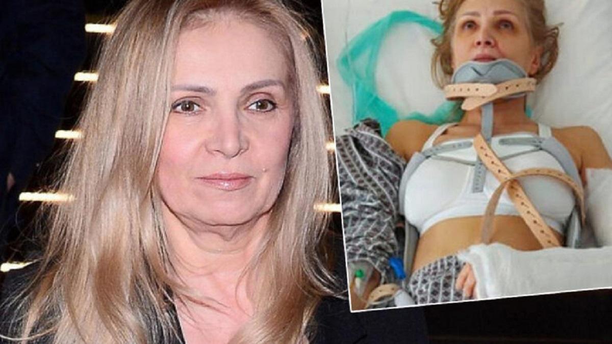 Sylwia Wysocka ma poważne problemy ze wzrokiem. Aktorka prawie nie widzi na lewe oko.