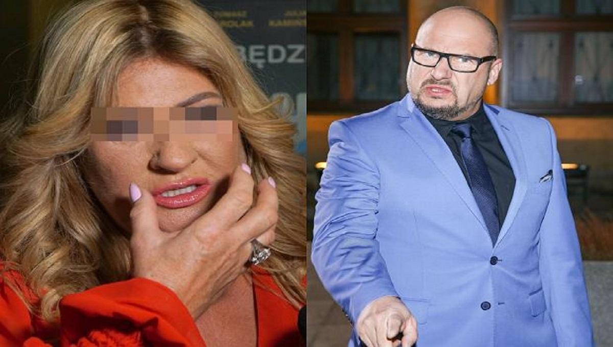 Beata Kozidrak prowadziła samochód po pijanemu. Broni jej Piotr Gąsowski.