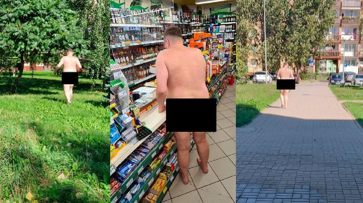Mężczyzna spacerował nago po ulicach. To prokurator!