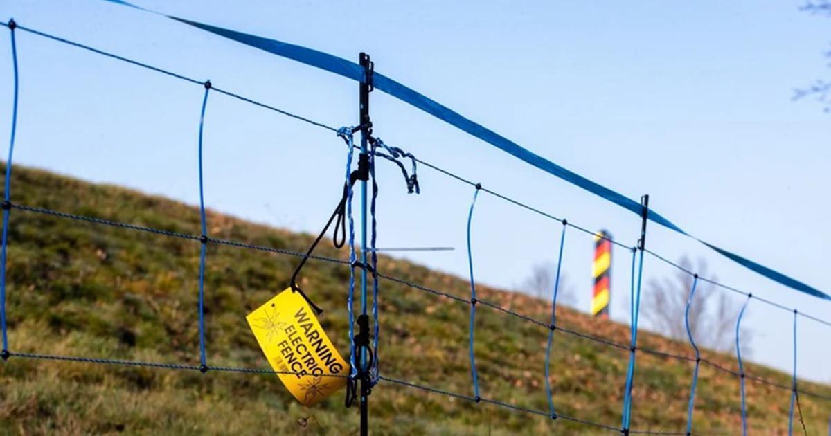 Niemcy budują płot na granicy z Polską. Będzie miał niemal 100 kilometrów długości.