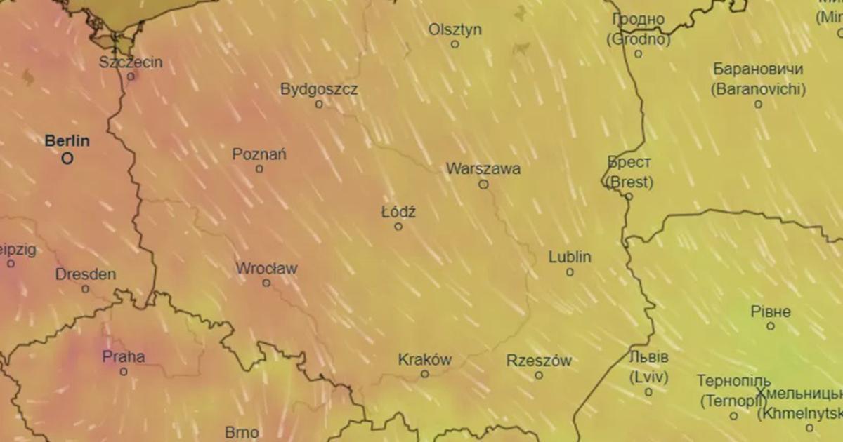 Nagła zmiana pogody. Fala ciepła wkracza do Polski.