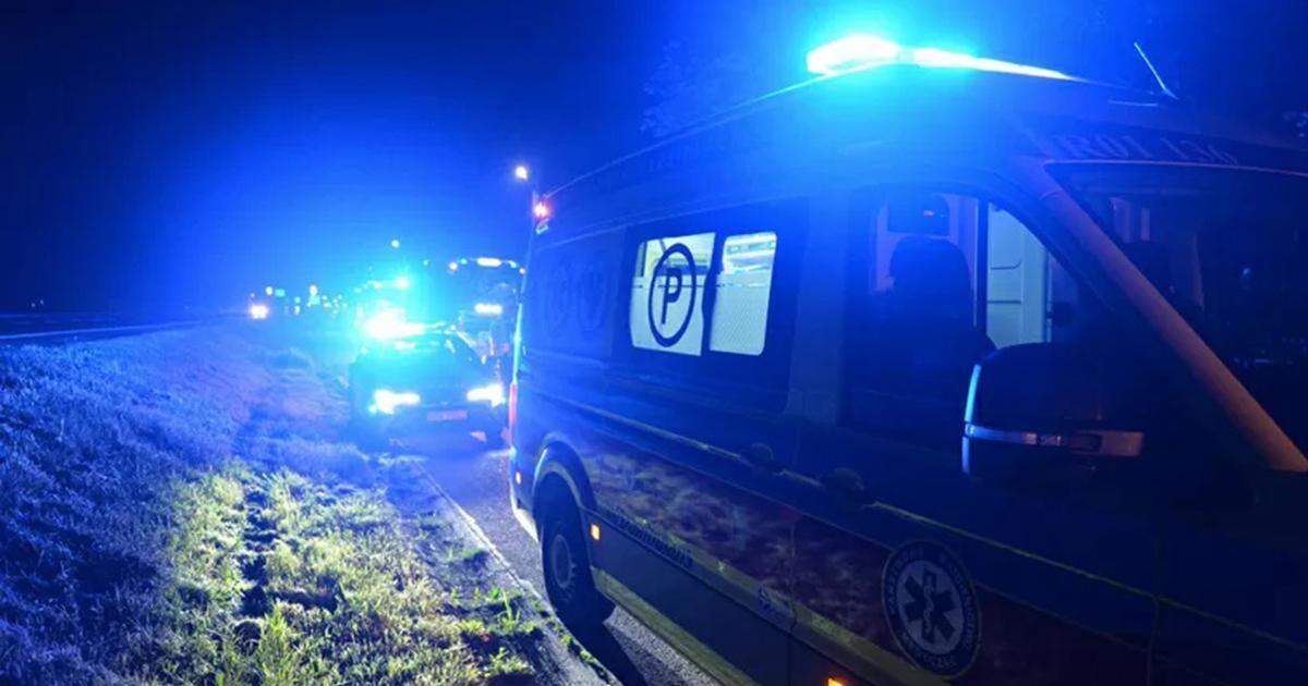 Incydent niedaleko granicy. Padły strzały. Policjant trafił do szpitala.