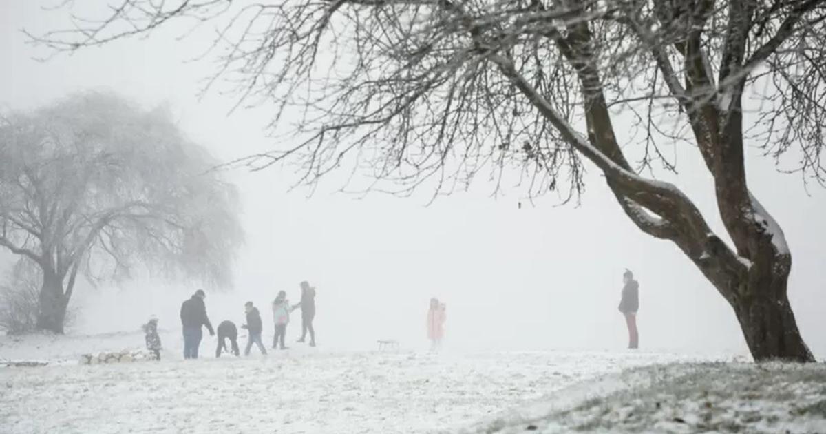 Pierwszy śnieg tej jesieni! Temperatura spadła do minus 5!